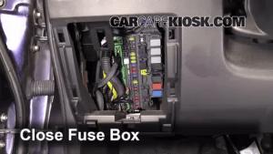 Interior Fuse Box Location: 20072008 Honda Fit  2008