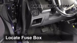 Interior Fuse Box Location: 20072008 Honda Fit  2008 Honda Fit 15L 4 Cyl