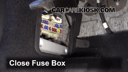 2013 Nissan Pathfinder Fuse Diagram Interior Fuse Box Location 2006 2010 Infiniti M35 2008