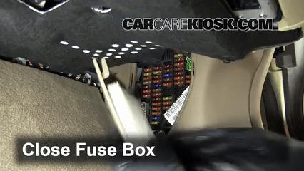 1996 Jaguar Xj6 Fuse Box Diagram Interior Fuse Box Location 2004 2009 Jaguar Xj8 2008