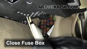 Interior Fuse Box Location: 20042009 Jaguar XJ8  2008