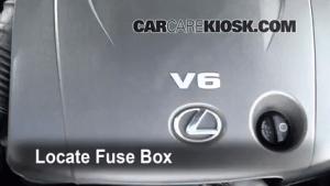 Replace a Fuse: 20062014 Lexus IS250  2008 Lexus IS250 25L V6
