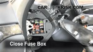 Interior Fuse Box Location: 20032009 MercedesBenz E350  2008 MercedesBenz E350 4Matic 35L