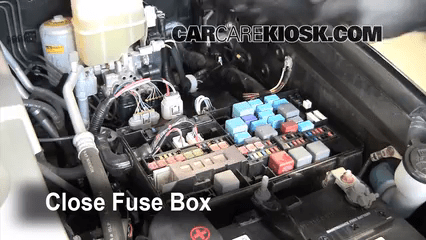 2011 4runner Fuse Box Replace A Fuse 2008 2014 Toyota Land Cruiser 2008