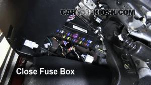 Interior Fuse Box Location: 20072013 Toyota Tundra  2007