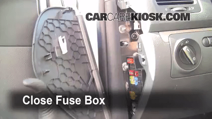 2005 Vw Beetle Convertible Fuse Box Interior Fuse Box Location 2006 2009 Volkswagen Rabbit