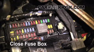 Interior Fuse Box Location: 20092017 Ford Flex  2009 Ford Flex SEL 35L V6