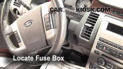 2013 Smart Car Fuse Box Layout Interior Fuse Box Location 2009 2019 Ford Flex 2009