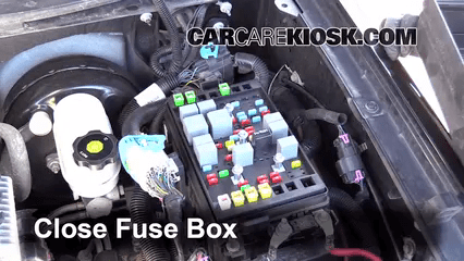 Fuse Diagram For 2000 Chevy S10 Blown Fuse Check 2002 2009 Gmc Envoy 2006 Gmc Envoy Slt