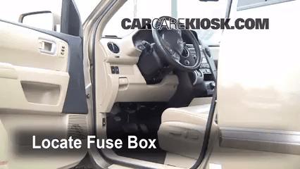 2006 Honda Ridgeline Radio Wiring Diagram Interior Fuse Box Location 2009 2015 Honda Pilot 2009