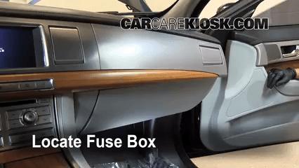 1996 Jaguar Xj6 Fuse Box Diagram Interior Fuse Box Location 2009 2015 Jaguar Xf 2009