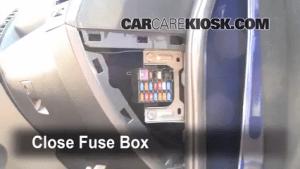 Interior Fuse Box Location: 20062010 Mazda 5  2009 Mazda