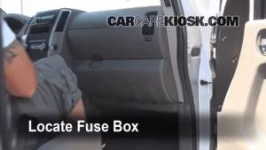 Interior Fuse Box Location: 20052019 Nissan Frontier  2009 Nissan Frontier LE 40L V6 Crew Cab