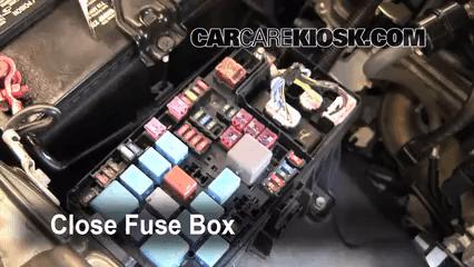 Fuse Box Diagram Blown Fuse Check 2005 2015 Toyota Tacoma 2009 Toyota