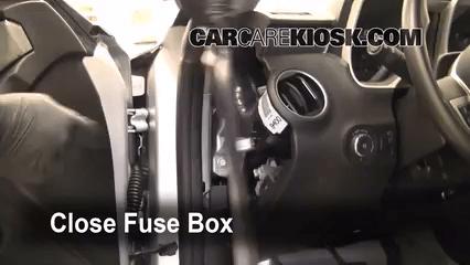 2005 Corvette Radio Wiring Diagram 2010 2015 Chevrolet Camaro Interior Fuse Check 2010