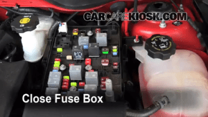 Replace a Fuse: 20052010 Chevrolet Cobalt  2010