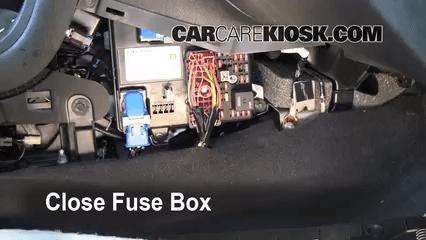 2015 Camaro Fuse Box Interior Fuse Box Location 2008 2012 Chevrolet Malibu