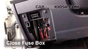 Interior Fuse Box Location: 20102013 Ford Transit Connect