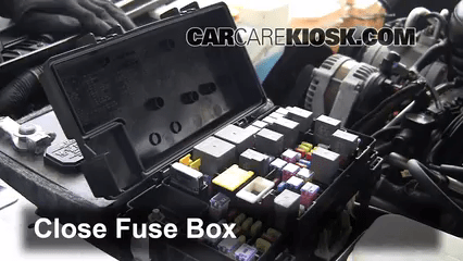 Interior Fuse Box Location 2007 2017 Dodge Nitro 1995 Caravan Diagram 2010