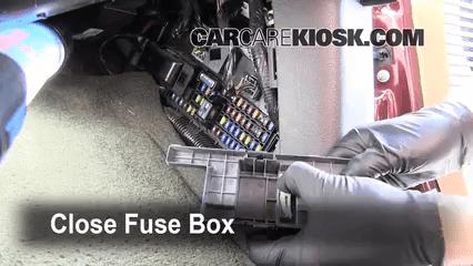 Fuse Box Diagram Or Layout Interior Fuse Box Location 2008 2016 Ford F 250 Super