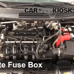 Ford Fiesta Mk7 Audio Wiring Diagram Rb25 Injector New Fuse Box Schematic Name Blown Check 2011 2017 Se 1 6l 4