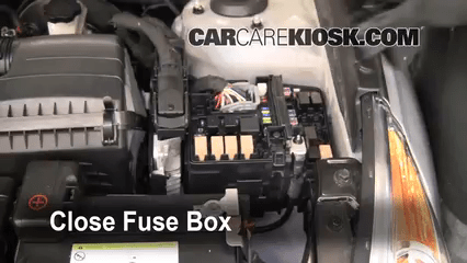 2013 Kia Optima Fuse Box Location Replace A Fuse 2011 2015 Hyundai Sonata 2011 Hyundai