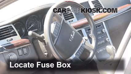 2008 Lincoln Mkx Fuse Diagram Interior Fuse Box Location 2009 2016 Lincoln Mks 2011