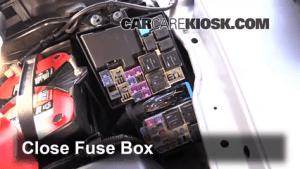 Replace a Fuse: 20072012 Mazda CX7  2011 Mazda CX7