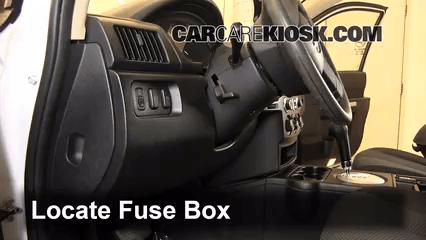 2003 Jeep Grand Cherokee Interior Fuse Panel Diagram Interior Fuse Box Location 2004 2011 Mitsubishi Endeavor