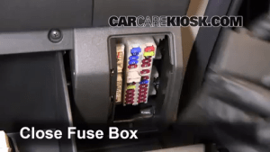 Interior Fuse Box Location: 20052015 Nissan Xterra  2011 Nissan Xterra S 40L V6