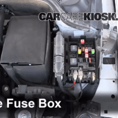 2006 Jetta Tdi Fuse Diagram Boat Nav Light Wiring Blown Check 2011 2017 Volkswagen 6 Replace Cover Secure The And Test Component