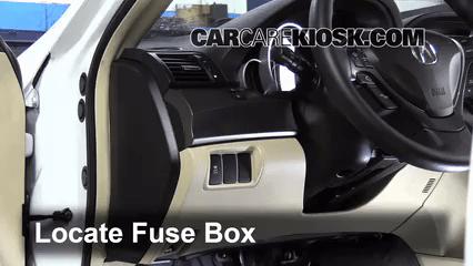 2017 Acura Tl 3 5l V6 Fuse Interior Check