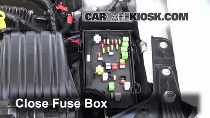 car air horn wiring diagram 2 wire inter system interior fuse box location 2011 2014 chrysler 200 2012 lx 4l 4 cyl sedan door