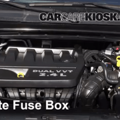 2007 Chrysler Sebring Ac Wiring Diagram 5 Layers Of Epidermis Interior Fuse Box Location 2011 2014 200 2012 Locate - Engine Free