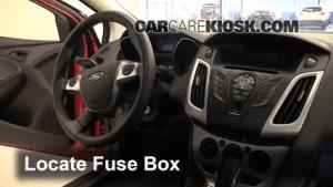 Interior Fuse Box Location: 20122018 Ford Focus  2012