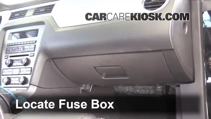 Ford Focus Fuse Box Diagram 2005 Interior Fuse Box Location 2010 2014 Ford Mustang 2012