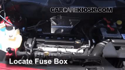 2008 jeep patriot interior fuse box location