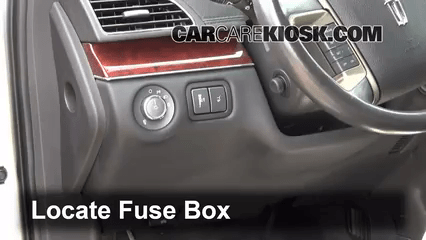 2015 F150 Fuse Box Diagram Interior Fuse Box Location 2010 2019 Lincoln Mkt 2012