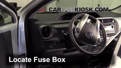Camry Cigarette Lighter Wiring Diagram Interior Fuse Box Location 2012 2017 Toyota Prius C