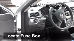 Interior Fuse Box Location: 20122017 Volkswagen Passat