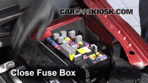 Interior Fuse Box Location: 20082016 Chrysler Town and