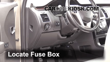 fuse box diagram for 2011 ford flex explained wiring diagrams rh dmdelectro co 2010 ford flex fuse box location Ford F-150 Fuse Box Location
