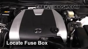Replace a Fuse: 20132017 Lexus GS350  2013 Lexus GS350 3