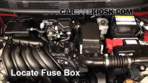Blown Fuse Check 20122019 Nissan Versa  2013 Nissan