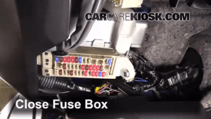 Interior Fuse Box Location: 20132017 Subaru BRZ  2013 Subaru BRZ Limited 20L 4 Cyl
