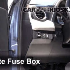 Land Cruiser Radio Wiring Diagram 2004 Saturn Ion 3 Stereo Interior Fuse Box Location: 2013-2017 Toyota Rav4 - 2013 Limited 2.5l 4 Cyl.