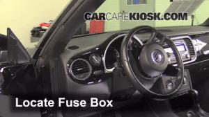 Interior Fuse Box Location: 20122017 Volkswagen Beetle