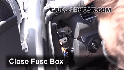2007 Volkswagen Beetle Fuse Box 2010 2014 Volkswagen Golf Interior Fuse Check 2013