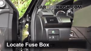 Interior Fuse Box Location: 20132017 Honda Accord  2014 Honda Accord EXL 35L V6 Sedan