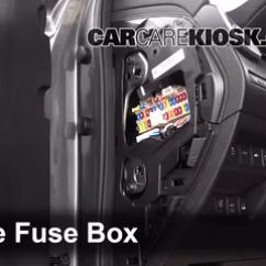 Nissan Sentra Wiring Diagram 2016 Tekonsha Voyager Interior Fuse Box Location: 2014-2017 Rogue - 2014 Sl 2.5l 4 Cyl.